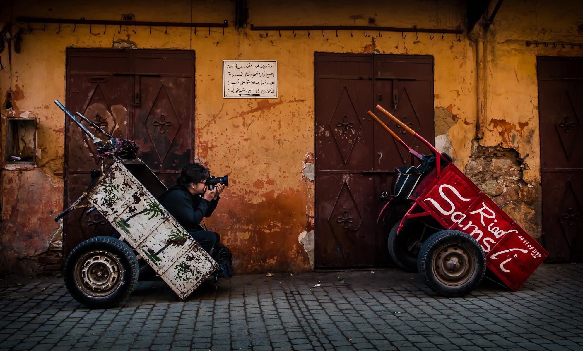 Puja al carro de la fotografia