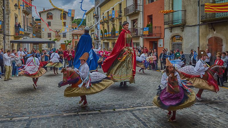 Ball de Cavallets, Gegants i Mulassa, la festa (II)