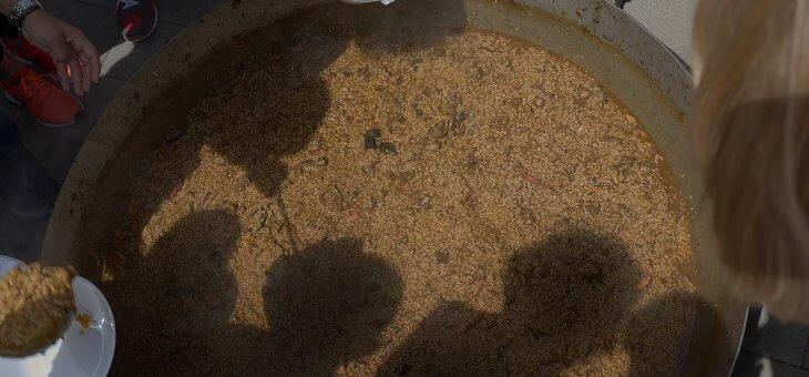 A Verges, arròs el dilluns de pasqua