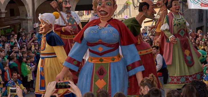 Els gegants del Carnaval de Solsona